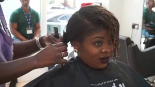 Salon Work Vlog   Bev's Hair Makeover