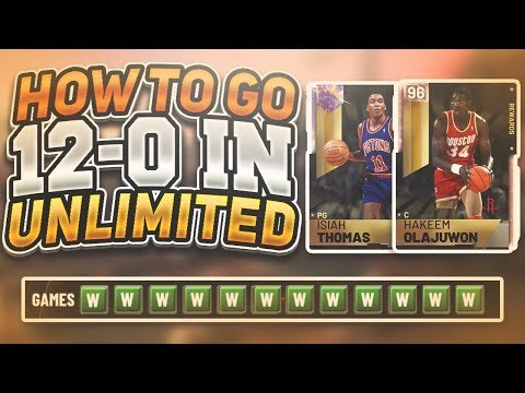 HOW TO GO 12-0 EVERYTIME IN UNLIMITED! PLAY AGAINST TRASH TEAMS AND MORE! NBA 2K19 MYTEAM