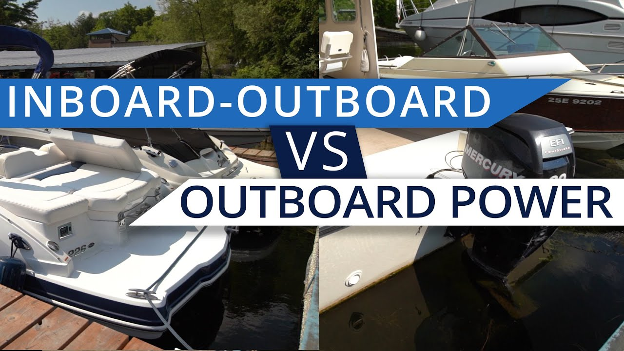 The Difference Between An Outboards And Sterndrives Youtube