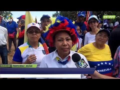 Venezuela - GNB en Bolívar secuestró camión de sonido de manifestantes - VPItv
