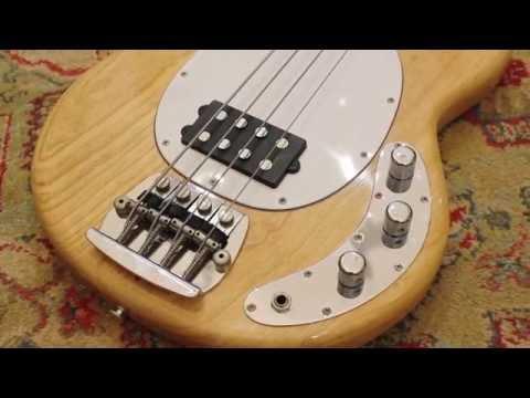 Music Man Stringray - 1st Production Model at Andy Baxter Bass