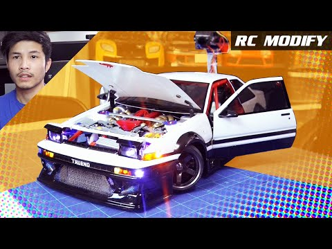 RC Modify 20 | 1986 TOYOTA TRUENO AE86 COUPE [English]