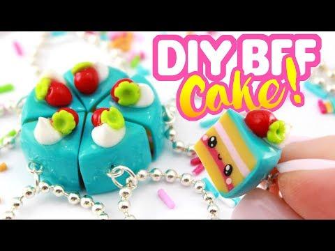 DIY CAKE BFF Charms!  Polymer Clay Crafts!  KAWAII FRIDAY