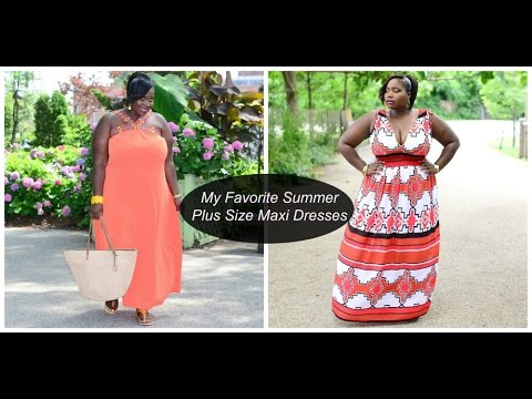 Plus Size Fashion My Favorite Maxi Dresses From New York Company