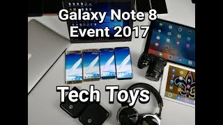 Samsung Galaxy Note 8 New York Event Countdown 2017  | What Tech Is Going??