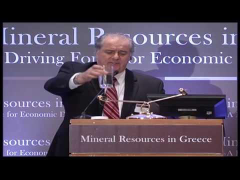 3rd International Forum Mineral Resources in Greece (Canada's Ambassador & CSR Expert)