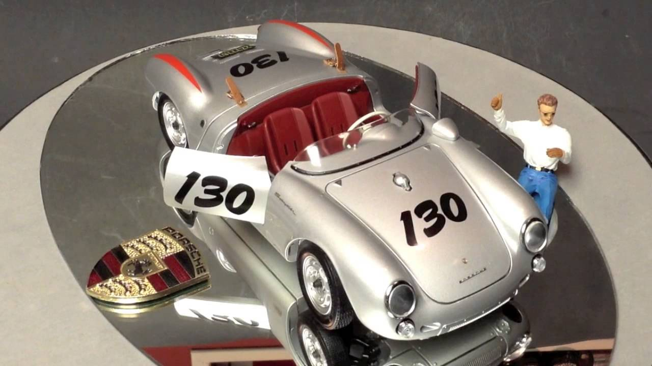 1 18 James Dean Porsche 550 Spyder By Schuco Review Youtube