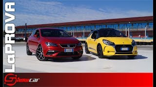 Prova confronto DS3 Performance VS Seat Leon FR