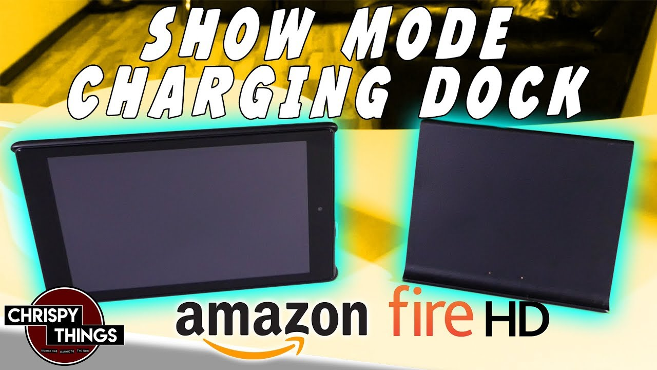 How to turn your Fire HD into an Echo Show! Show Mode dock review!