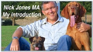 Dog Expert Witness. Dog Behaviourist. Nick Jones Ma. An Introduction.