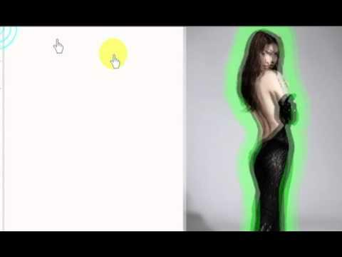ตัดภาพพื้นหลังด้วยคำสั้ง Extract Photoshop CS3
