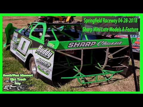 Sharp Mini Late Models A-Feature  - Springfield Raceway 4-28-2018