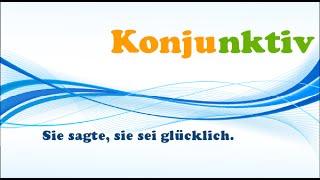 Немецкая грамматика В2-С1: Konjunktiv I, indirekte Rede. Коньюнктив 1. Курс немецкого, урок 50.