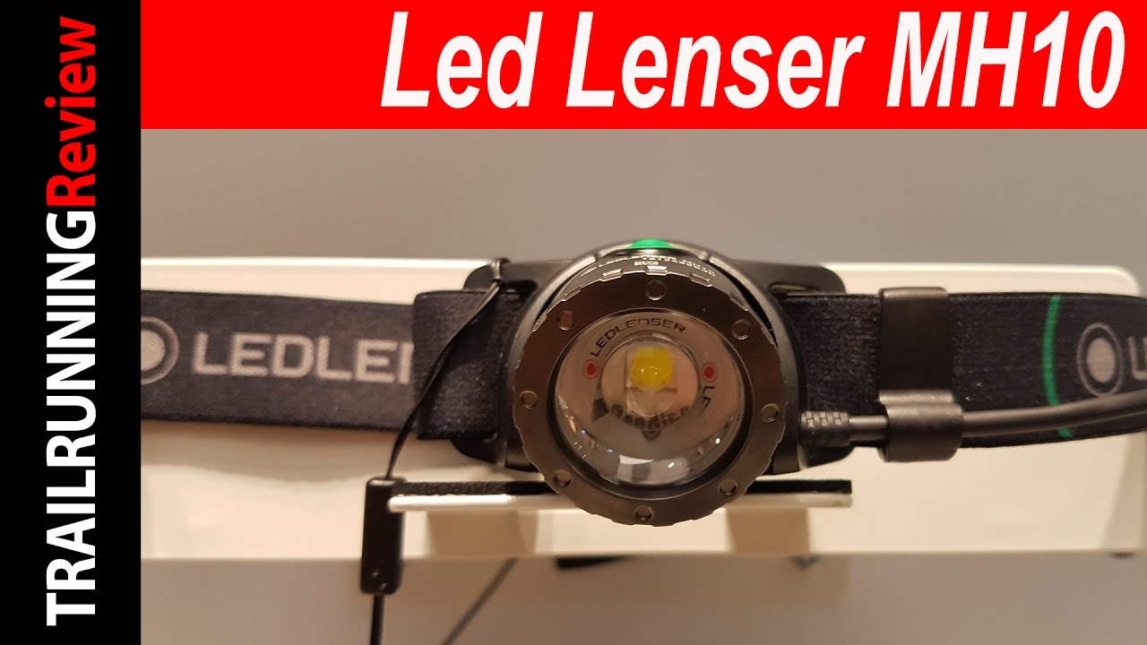 Led Lenser MH10 Preview - YouTube