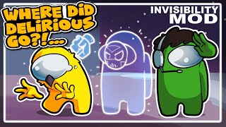 IMPOSTORS CAN TURN INVISIBLE! | Among Us