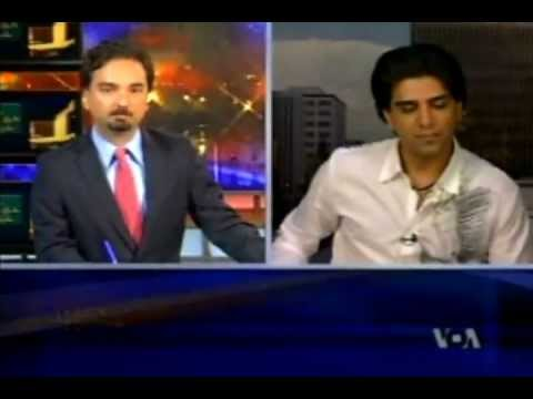 Shahryar Interview by Voice of America TV