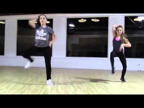 Maddie And Mackenzie Ziegler Hip Hop Combo (Who Run The World Girls)