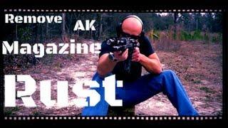 How To Remove Surplus AK-47 Magazine Rust (HD)