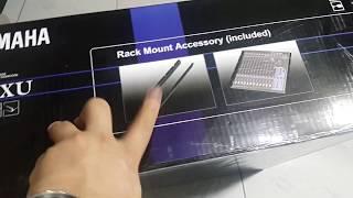 Yamaha MG16XU Mixing Console Detailed Walkthrough