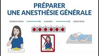 Anesthésie générale : quelle préparation ?