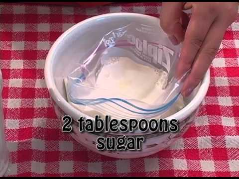 Homemade Ice Cream In A Bag (Quick And Easy)