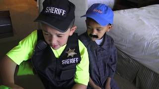 POLICE SET TRAPS AT RESORT TO CATCH A KID THIEF!