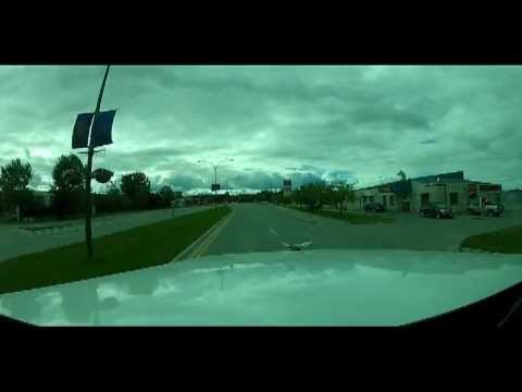 Leaving Thompson Manitoba