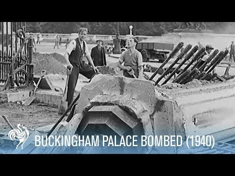 Buckingham Palace Bombed (1940)
