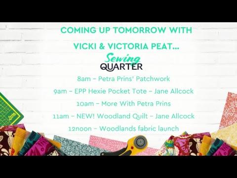 Sewing Quarter - Sunday 18th November