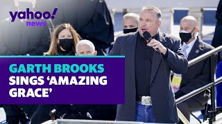 Garth brooks sings 'amazing grace' at the inauguration of president joe biden on jan. 20, 2021.follow us on:facebook: https://www.facebook.com/yahoonewsinsta...