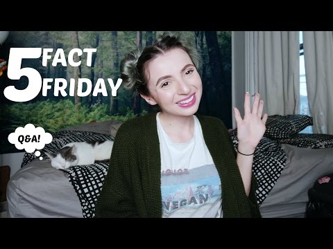 5 Fact Friday! My Job okay with my Online Life? Body Image, Parents watch my videos.