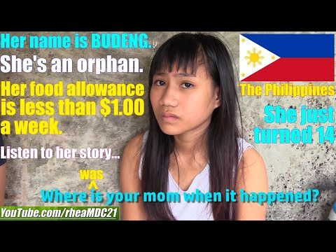 Travel to Manila Philippines and Meet this Abandoned Orphan Child. Filipino Kids. World's Society