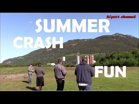 Summer - RC flying - Crash - Cool flying
