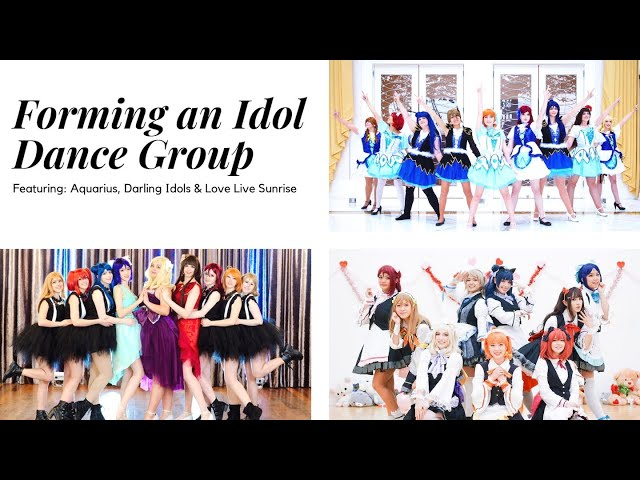 ☆[Interview] Forming an Idol Dance Group FEAT. Aquarius, Darling Idols and Sunrise!☆