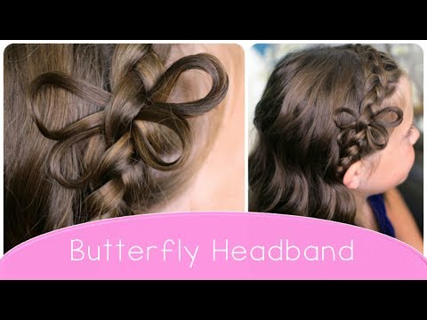 how-to-make-a-butterfly-braided-headband-|-cute-hairstyle-ideas