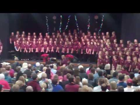 Winter Choir Concert Rockwood Middle School Dec 7, 2016