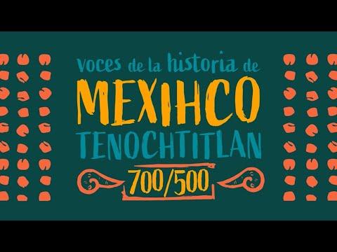 Voces de la historia de Mexihco Tenochtitlan. 700/500. Capítulo 162