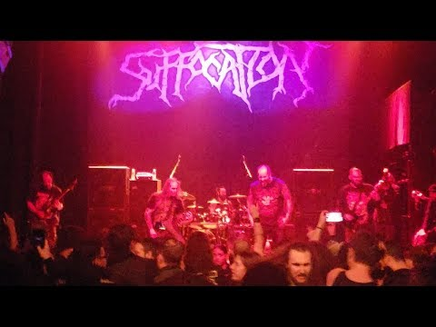SUFFOCATION - Thrones of Blood (LIVE at GRAMERCY THEATRE, NYC) 11/16/2018