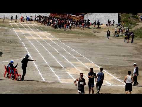 HP Forest Guard Physical Test (Male 100 Meter Race) || Himachal Pradesh, India