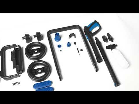 High pressure washer Nilfisk Core 140 In Hand Power Control - Unboxing