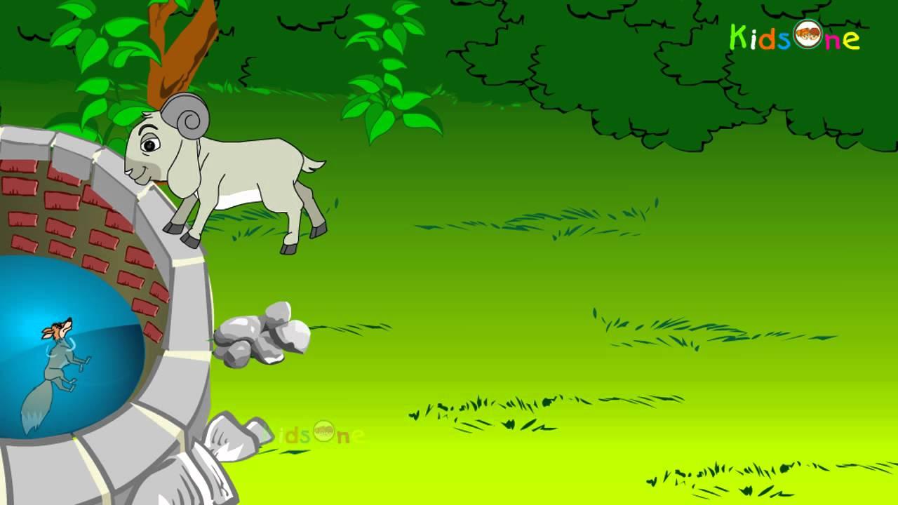 Sheep and Fox    Telugu Animated Story    Animation ...