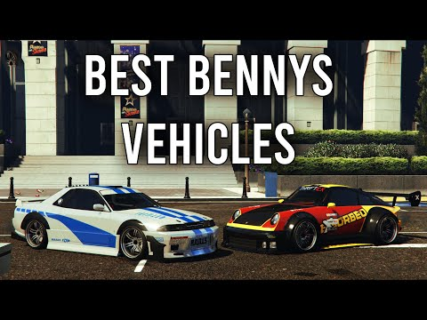 GTA 5 - Best Benny\'s Vehicles in the Game! Top 8 You Should Buy!!