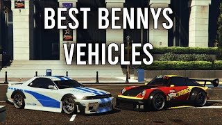 GTA 5 - Best Benny's Vehicles in the Game! Top 8 You Should Buy!!