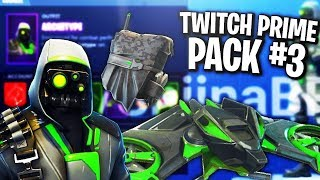 'NOWE' DARMOWE SKINY !! - TWITCH PRIME PACK #3 Fortnite Bataille Royale