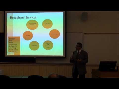 Rural Broadband - The Pipe Stops Here - Monieson Ideas Seminar