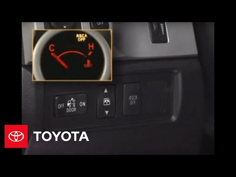 2007 - 2009 Tundra How-To: Roll-Sensing Curtain Airbag Cut-Off Switch | Toyota