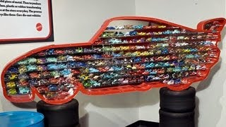 OVER 100 Cars Diecast Collection Lightning McQueen Display DisneyPixarCars