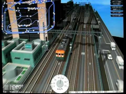 VRM5鉄道模型シミュレーター5で...