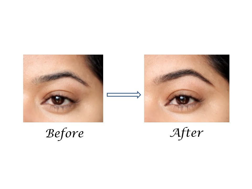 How To Fill In Your Eyebrows For A Natural Look Using Brow Powder