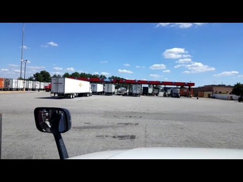 BigRigTravels LIVE! Fredericksburg to Colonial Heights, Virginia Interstate 95 South July 31, 2017